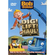 Bob The Builder Dig Lift Haul On DVD with Neil Morrissey - DD639450