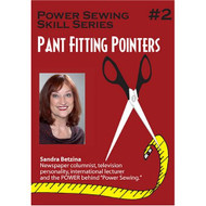 Power Sewing #2 Pant Fitting Pointers On DVD - DD640354
