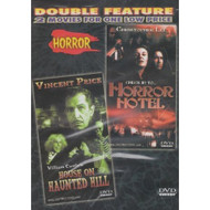 House On Haunted Hill / Horror Hotel Slim Case By Vincent Price On DVD - DD640423