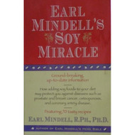 Earl Mindell's Soy Miracle Book Paperback by Earl Mindell Book - E027463
