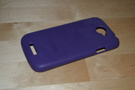 Purple Silicone Soft Skin Gel Case Cover For HTC One S HTCONESSK014 - E141979