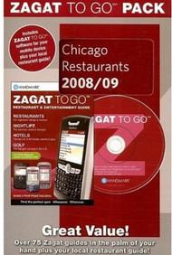 Zagat To Go Pack Chicago Restaurants 2008/09 Zagat To Go Packs - E41463