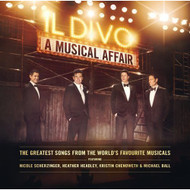 Musical Affair By Il Divo On Audio CD Album Pop 2013 - E510134