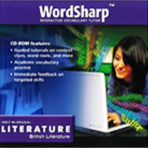 Holt McDougal Literature: WordSharp Interactive Vocabulary Tutor CD -  EE486153