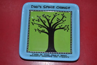 Enesco Our Name Is Mud By Lorrie Veasey Money Tree Tray Blue Bowl - EE513478
