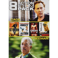 8 Action Film Pack Stolen / Direct Action / The Circuit / Rampart / - EE525724