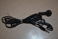 Qfx Stereo Earbuds With Inline Microphone Black Earphones Headphones - EE534565