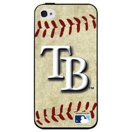 MLB Tampa Bay Rays iPhone 4/4S Hard Cover Case Vintage Edition - EE535766