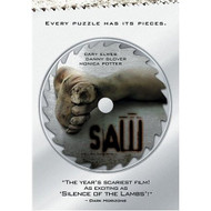 Saw Full Screen Edition On DVD with Cary Elwes Horror - EE539603