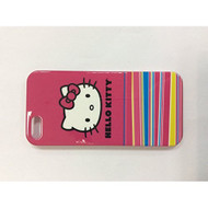 Hello Kitty Hardshell Case For iPhone 5 5S SE White/Red Cover Fitted - EE542162