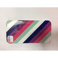 iConcepts Hardshell Case For iPhone 4/4S Diagonal Stripes Design - EE544207
