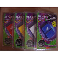 Nyko Memory CARD2 Memory Card 2 Megabit Memory Cartridge For - EE549534
