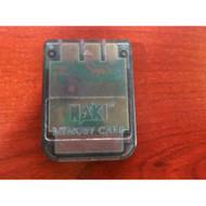 Naki 1MB Memory Card Model #58000 For PlayStation 1 PS1 - EE552722