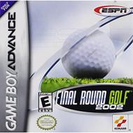 ESPN Final Round Golf 2002 Game Boy Advance For GBA Gameboy Advance - EE557025