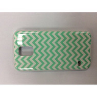 iConcepts Hardshell Case For Samsung Galaxy S5 Zigzag Waves Green - EE560244