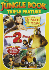 Jungle Book Triple Feature On DVD - EE560771