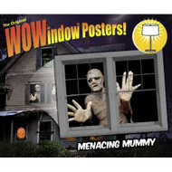 WOWindow Posters Menacing Mummy Halloween Window Decoration Two 34.5X6 - EE561728
