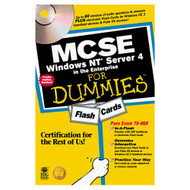 Mcse Windows Nt Server 4 In The Enterprise For Dummies Flash Cards - EE570062