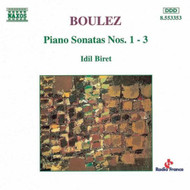 Boulez: Piano Sonatas Nos 1-3 By Pierre Boulez Composer Idil Biret - EE583317