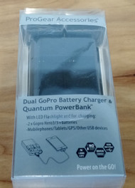 Progear Accessories Dual GoPro Battery Charger And Quantum Powerbank - EE596092