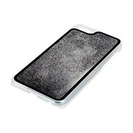 Pilot Liquid Glitter Case For Apple iPhone 6 6S Silver And Black Cover - EE596424