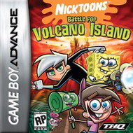 Nicktoons Battle For Volcano Island For GBA Gameboy Advance - EE624119