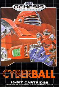 Cyberball For Sega Genesis Vintage With Manual and Case - EE632893
