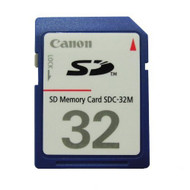 Canon 32 MB SD Memory Card - EE640664