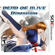 Dead Or Alive Dimensions For 3DS Fighting - EE640816