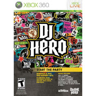 DJ Hero Stand Alone Software For Xbox 360 Music - EE643108