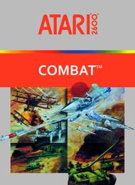 Combat 2600 Video Game Cartridge For Atari Vintage Shooter - EE643223