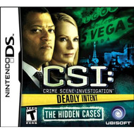 CSI: Deadly Intent-The Hidden Cases For Nintendo DS DSi 3DS 2DS - EE644069