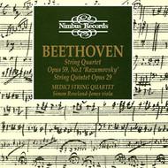 Beethoven: String Quartet Op 29 String Quartet Op 90 No 1 'Razumovsky' - XX623096