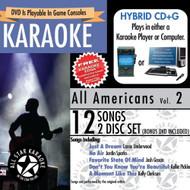 ASK-1558 All Americans Karaoke Karaoke Edge Bonus Karaoke On DVD - XX627554