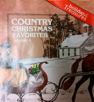 Country Christmas Favorites VOLUME-2 On Audio CD Album - XX627879