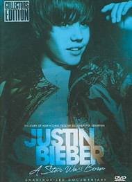Justin Bieber-A Star Was Born-Unauthorized Biography On DVD - XX631664