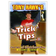 Tony Hawk's Trick Tips Vol 3: Secrets Of Skateboarding On DVD - XX632093