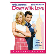 Down With Love Widescreen Edition On DVD with Ewan McGregor Romance - XX636740