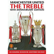 Manchester United The Treble 10th Anniversary Text Spacing Import - XX641815