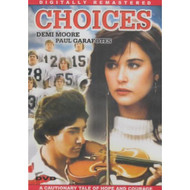 Choices Slim Case On DVD With Demi Moore - DD597135