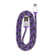 360 Electrical 360401 Quickcharge Braided Micro USB Cable 3'/0.9M - DD612235