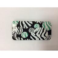 IConcept Hardshell Case For iPhone 5 5S SE Zebra Stripes Design Green - EE548042
