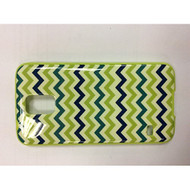 iConcepts Hardshell Case For Samsung Galaxy S5 Zigzag Waves Green/Blue - EE560251