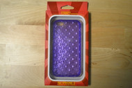 WoW For iPhone 5 5S SE Clear/Purple Tinted Case Cover Fitted - EE563595