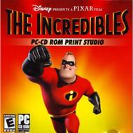 Disney Pixar Film The Incredibles PC Cd-Rom Print Studio Software - EE565873
