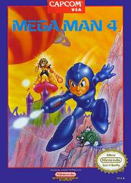 Mega Man 4 For Nintendo NES Vintage - EE617149
