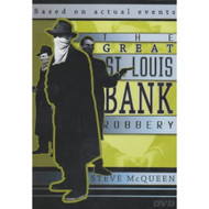 The Great St Louis Bank Robbery Slim Case On DVD With Steve McQueen - XX607889