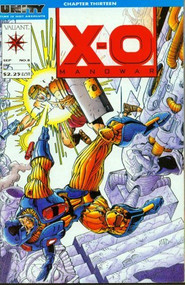 XO Manowar #8 Comic Book - E93266