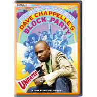 Dave Chappelle's Block Party Unrated Widescreen Edition On DVD - DD582154