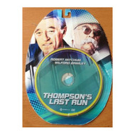 Thompson's Last Run 2012 On DVD - DD627737